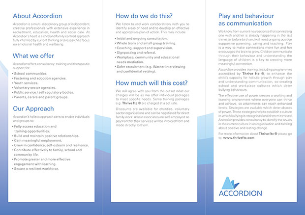 Accordion Leaflet