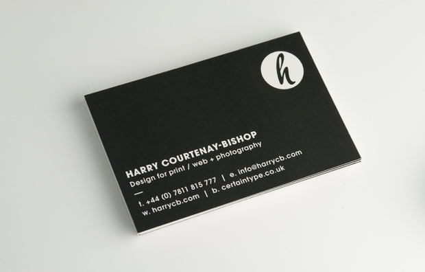 Harrycb design personal branding business cards 1 colourmoves